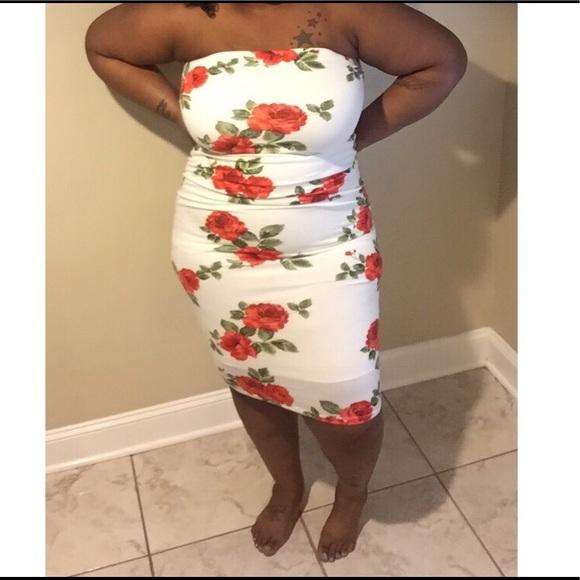 Dresses Plus Size Tube Dress Poshmark